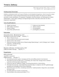 Biology Resume Haadyaooverbayresort Com