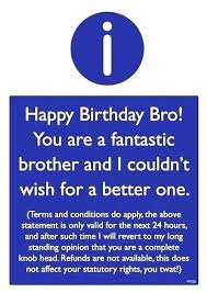 Funny Brother Quotes Adorable Imágenes De Funny Happy Bday Brother Quotes
