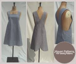 Apron Dress Pattern Amazing The Maria Wrap Apron By Maven Patterns