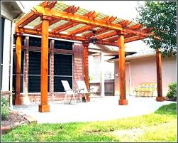 free standing patio cover plans best of roof furniture