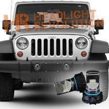 Jeep Tj Fog Light Bulb Replacement 2007 2017 Jeep Wrangler Jk Led Fog Light Bulb Upgrade Level 1
