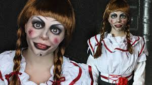 creepy doll makeup tutorial annabelle the conjuring