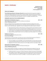 8 How To Write A Summary For Resume Riobrazil Blog Business Plans