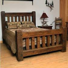 rustic king size bed frame – arealive.co