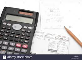 Monthly Expenses Calculator Adding Up The Monthly Expenses For Household Accounting A