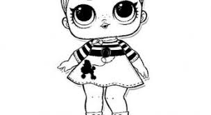 Doll Queen Bee Coloring Page