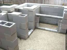 how to build an outdoor kitchen with cinder blocks great outdoor kitchen cinder block outdoor living