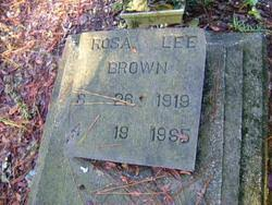 Rosa Lee Shaw Brown (1919-1995) - Find A Grave Memorial