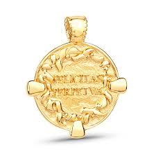 Купить Кулон <b>Coin</b> Antique Vermeil из 18 кт желтого золота в ...