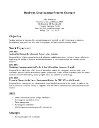 Business Administration Objective 5 Marketing Sample Resume 16 Major