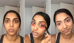 the craziest makeup trick to get rid of