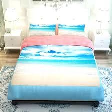 themed duvet covers beach themed duvet covers ocean themed duvet covers sunset ocean blue sea sandy themed duvet covers