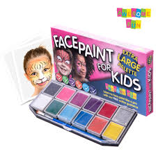new face painting trend causes huge upsurge in demand for home face painting kits awesome fun
