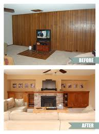 Built In Cabinets Beside Fireplace Remodelaholic Amazing Diy Fireplace And Built Ins