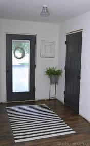 inside front door colors. Trendy Mudroom Progress Painted Interior Doors With Sherwin Williams Iron Ore Paint Inside Front Door. Door Colors