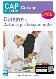 Cuisine Culture Professionnelle Cap Cuisine 2017 Pochette