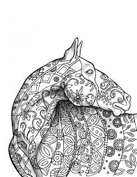 Free Coloring Page Wonderful World Of Horses Book Best Horse Pages