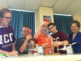 chemistry projects for college students happy belated mole day or  ucc science students partner grade our lady of fatima for the past several weeks grade 11