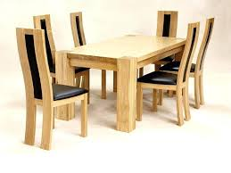oak dining table and chairs large size of table best oak dining tables round oak table