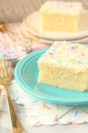 Moist Vanilla Cake Recipe Beyond Frosting