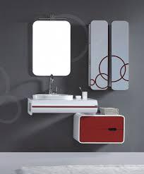 modern bathroom storage. Medium Size Of White Red Glossy Floating Modern Bathroom Storage Cabinet Grey Painted Interior Wall Silver U