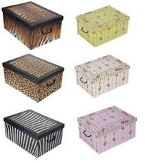 Decorative Cardboard Storage Boxes With Lids Cardboard Storage Boxes eBay 5