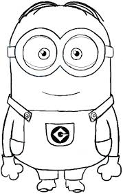 Small Picture Minion Coloring Pages Dr Odd