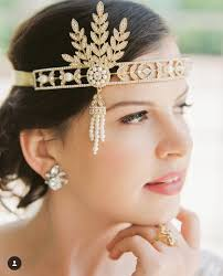 great gatsby inspired wedding hair and makeup beauty by ariel lewis