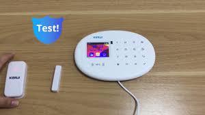 <b>KERUI W20</b> Wireless Smart Home WIFI GSM Security Alarm ...
