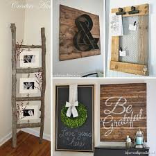 rustic diys for home decor instagram trend diy country home decorating