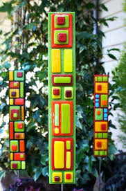 best stained glass garden stakes and windows with art for