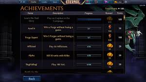 Eternal Card Game Steam Charts Achievements Eternal Card Game Wiki Fandom Powered By Wikia