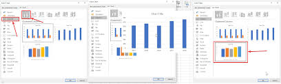 All Charts Window Excel How To Create Charts On Microsoft Excel To Create A Visual