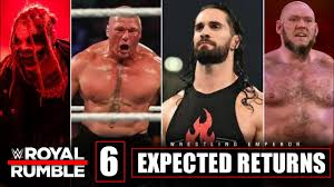WWE Royal Rumble 2021 Highlights - 6 Expected Returns | WWE Royal Rumble  2021 Highlights