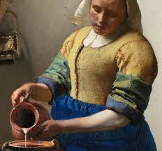 Vermeer Painter Of Light Work In Progress Vermeers Milkmaid The Eclectic Light