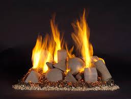 firepit custom gas log fireplace fireball