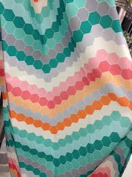 gray white kassatex delightful ideas chevron shower curtain target plush design girl with the pink toolbelt putting things on