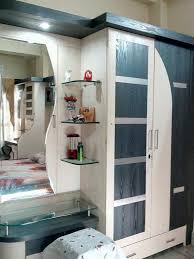 Wardrobe With Dressing Table Designs India Diseños Interiores De Madera De Almirah Almirah Interiores