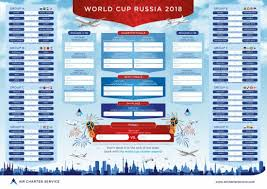 World Cup Russia Wall Chart Charter To The 2018 Russian World Cup
