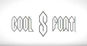 cool s font is an entire typeface based around the coolest form of the letter s that being an elongated awesome hexagonal loop where the form of the