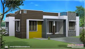 Small Picture Designs Homes Design Single Story Flat Roof House Plans