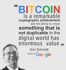 Bitcoin Quote Magnificent Eric Schmidt CEO Of Google Quote About Bitcoin Steemit