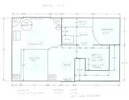 Master Bathroom Dimensions Custom Inspiration Design