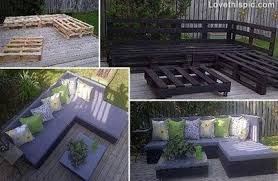 furniture made of pallets. Deck Furniture Made From Pallets Of