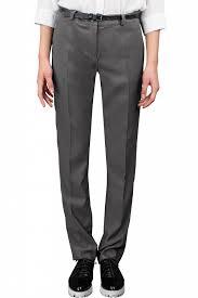 Купить <b>брюки</b> для девочки 64143_OLG цвета серый темно-синий ...