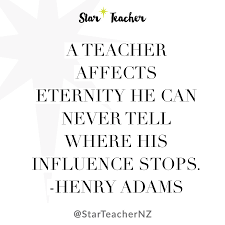 Christian Teacher Quotes Best of A Teacher Affects Eternity Star Teacher