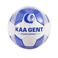 Blauw/witte mini-voetbal - KAA Gent webshop