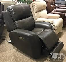 1773 flexsteel leather power recliner