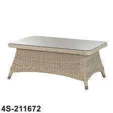 rattan coffee table 4 seasons outdoor rattan coffee table with glass round rattan coffee table canada