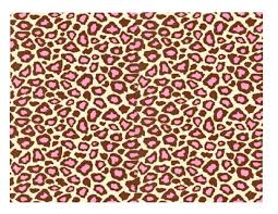 brown leopard pattern on pink and yellow stripes animal print as gallery